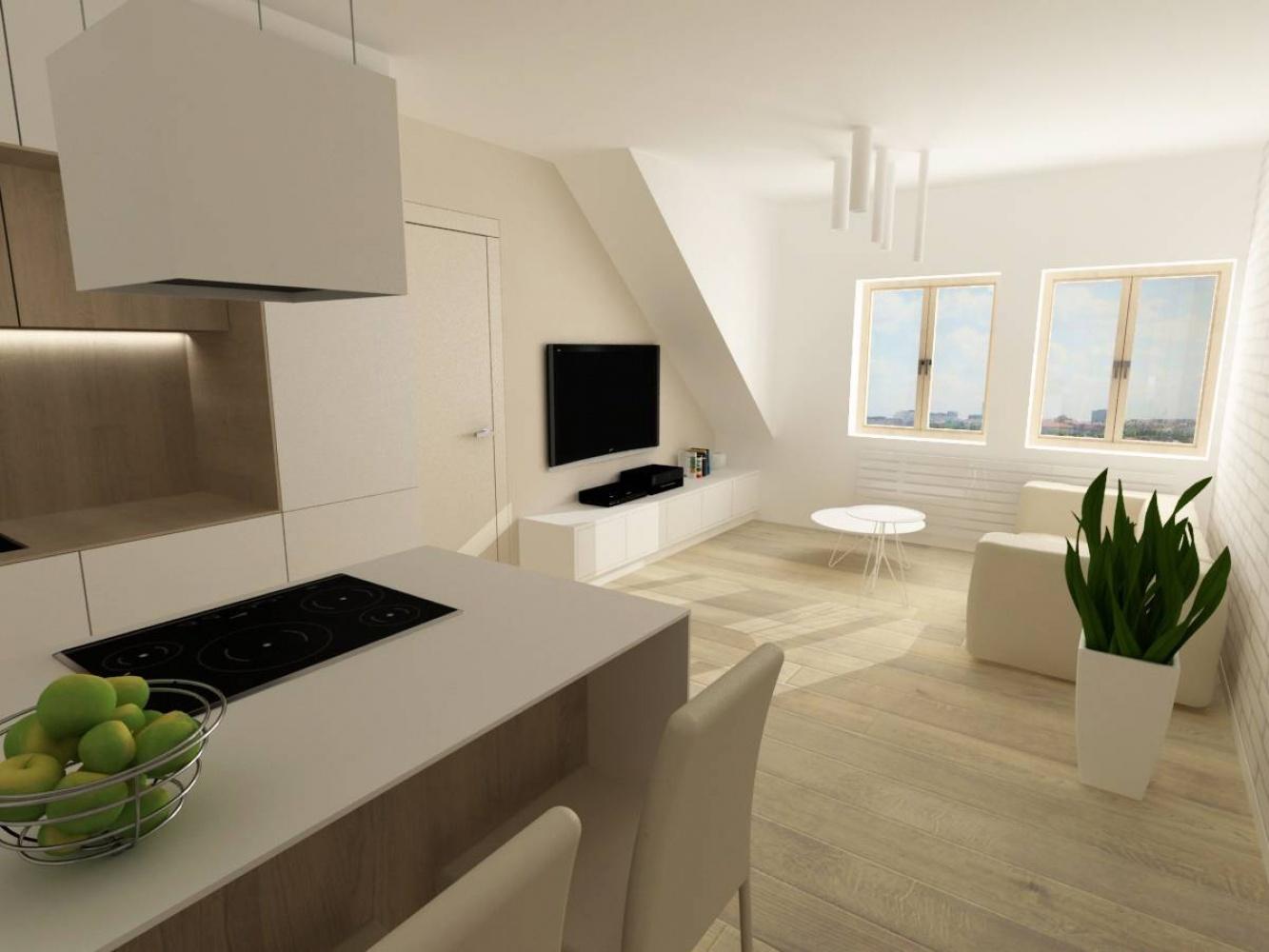 Půdní byt 2+kk, plocha 45 m², ulice Svatoslavova, Praha 4 - Nusle | 1
