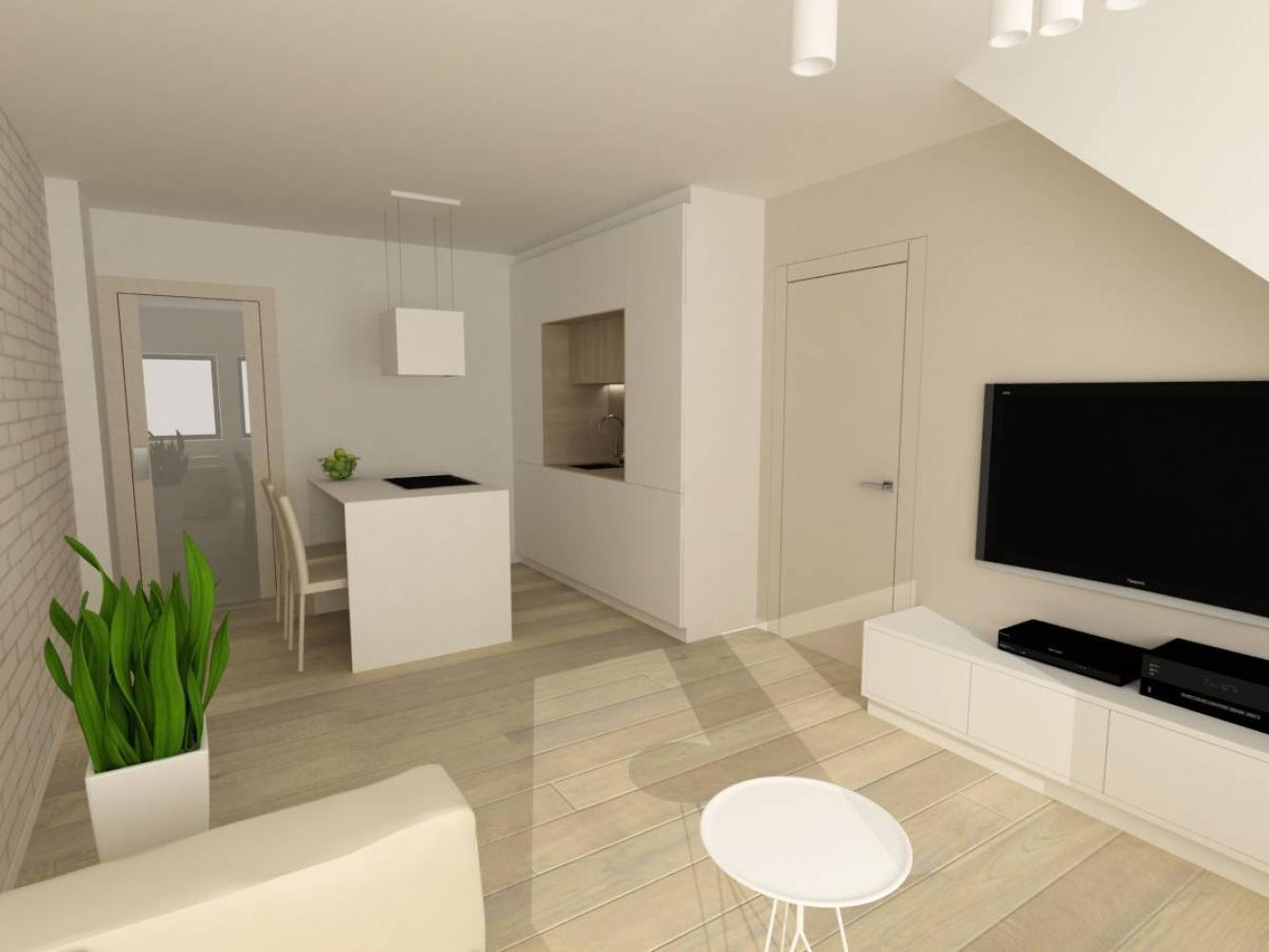 Půdní byt 2+kk, plocha 45 m², ulice Svatoslavova, Praha 4 - Nusle | 2