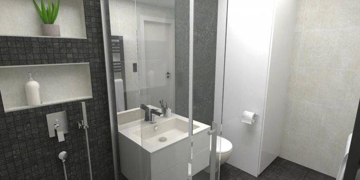 Půdní byt 1+kk, plocha 46 m², ulice Svatoslavova, Praha 4 - Nusle | 3