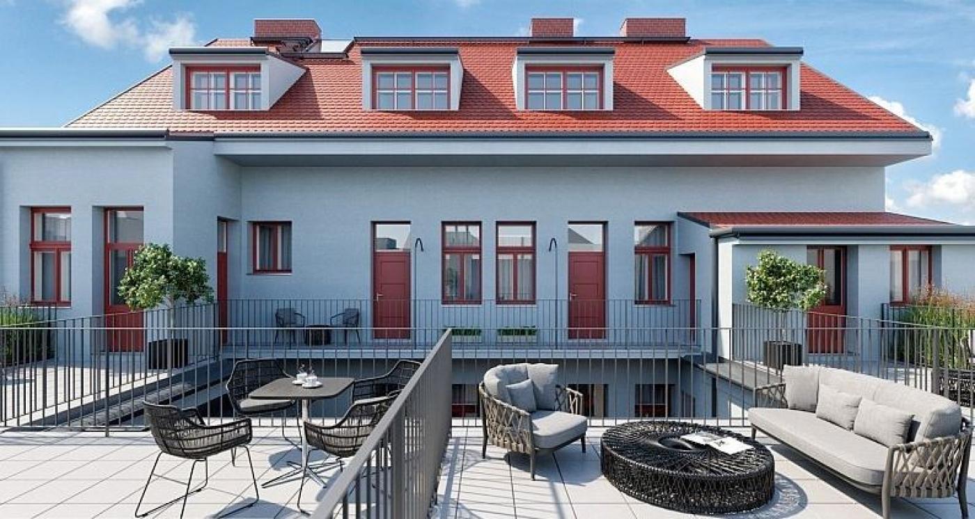 Půdní byt 2+kk, plocha 46 m², ulice Prvního pluku, Praha 8 - Karlín | 2