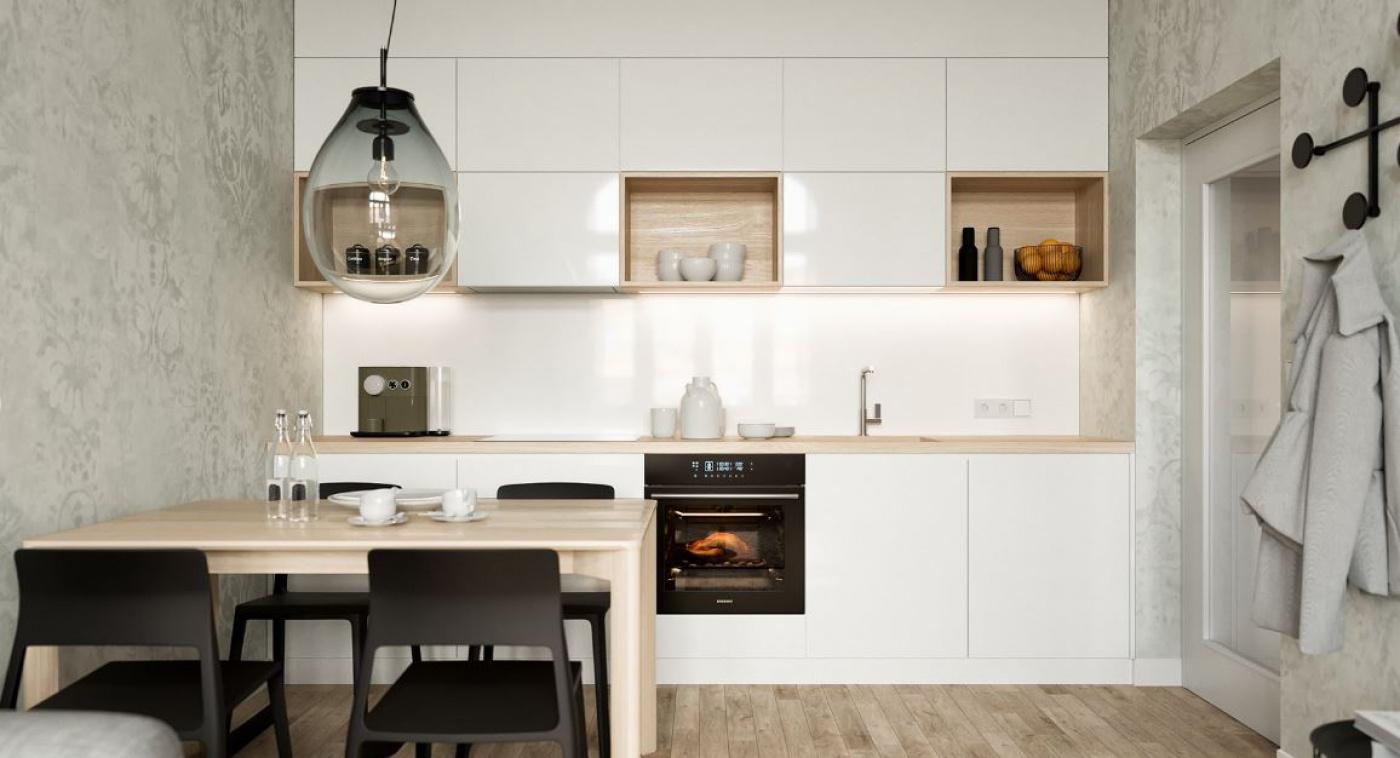 Půdní byt 2+kk, plocha 46 m², ulice Prvního pluku, Praha 8 - Karlín | 3