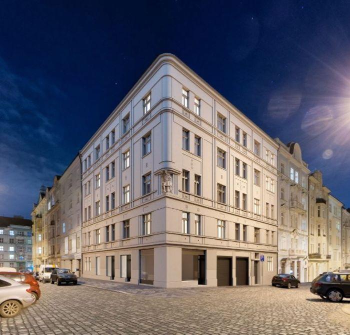 Developerský projekt Na Spojce, ulice Na Spojce, Praha 10 - Vršovice | 2