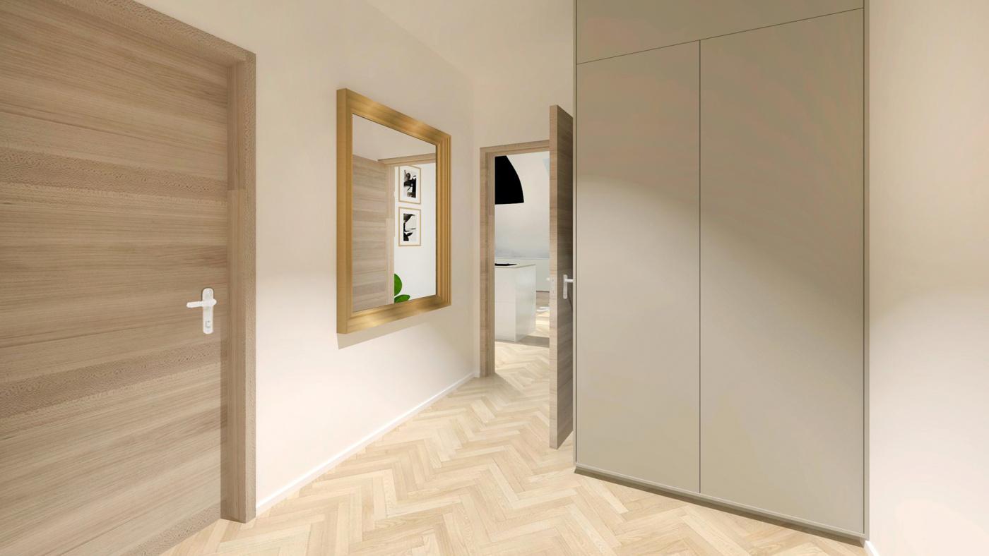 Půdní byt 2+kk, plocha 42 m², ulice Čajkovského, Praha 3 - Žižkov, cena 5 295 000 Kč | 5