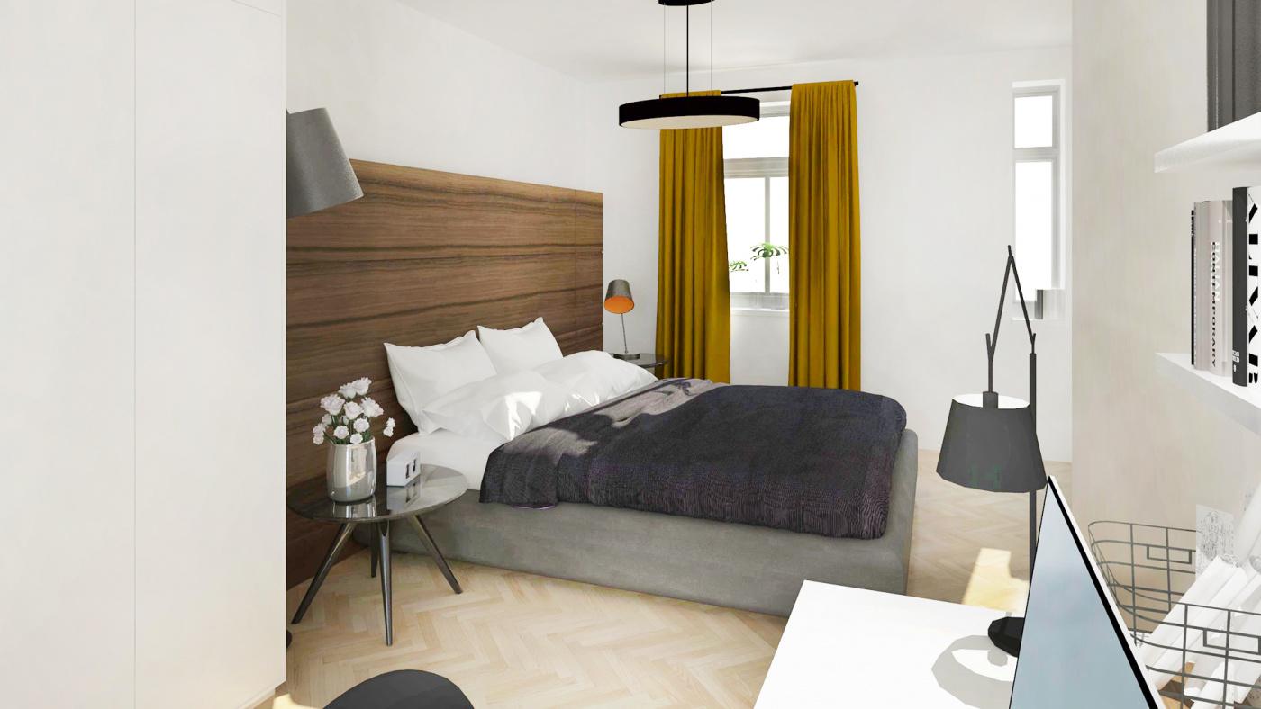 Půdní byt 2+kk, plocha 54 m², ulice Čajkovského, Praha 3 - Žižkov, cena 6 255 000 Kč | 5