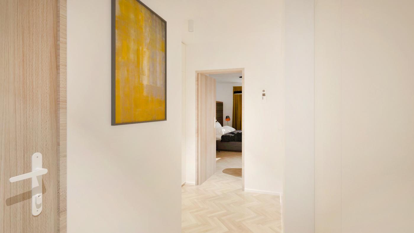 Půdní byt 2+kk, plocha 54 m², ulice Čajkovského, Praha 3 - Žižkov, cena 6 255 000 Kč | 6