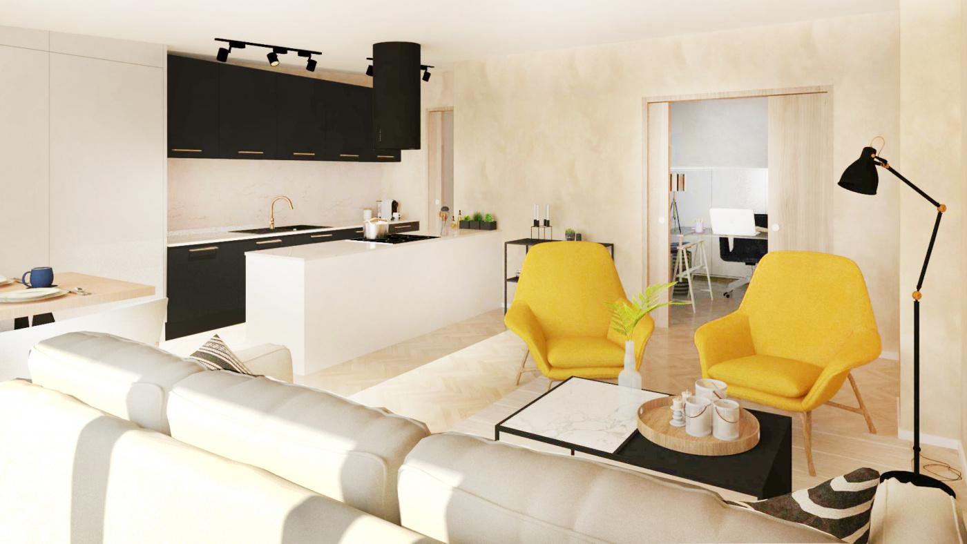 Půdní byt 3+kk, plocha 90 m², ulice Čajkovského, Praha 3 - Žižkov | 3