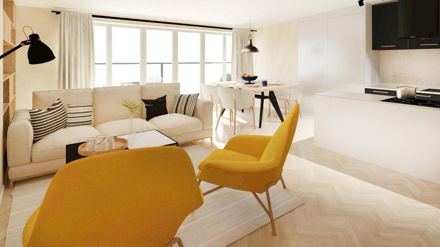 Půdní byt 3+kk, plocha 90 m², ulice Čajkovského, Praha 3 - Žižkov | 1