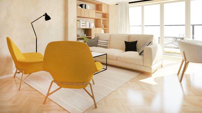 Půdní byt 3+kk, plocha 90 m², ulice Čajkovského, Praha 3 - Žižkov | 2