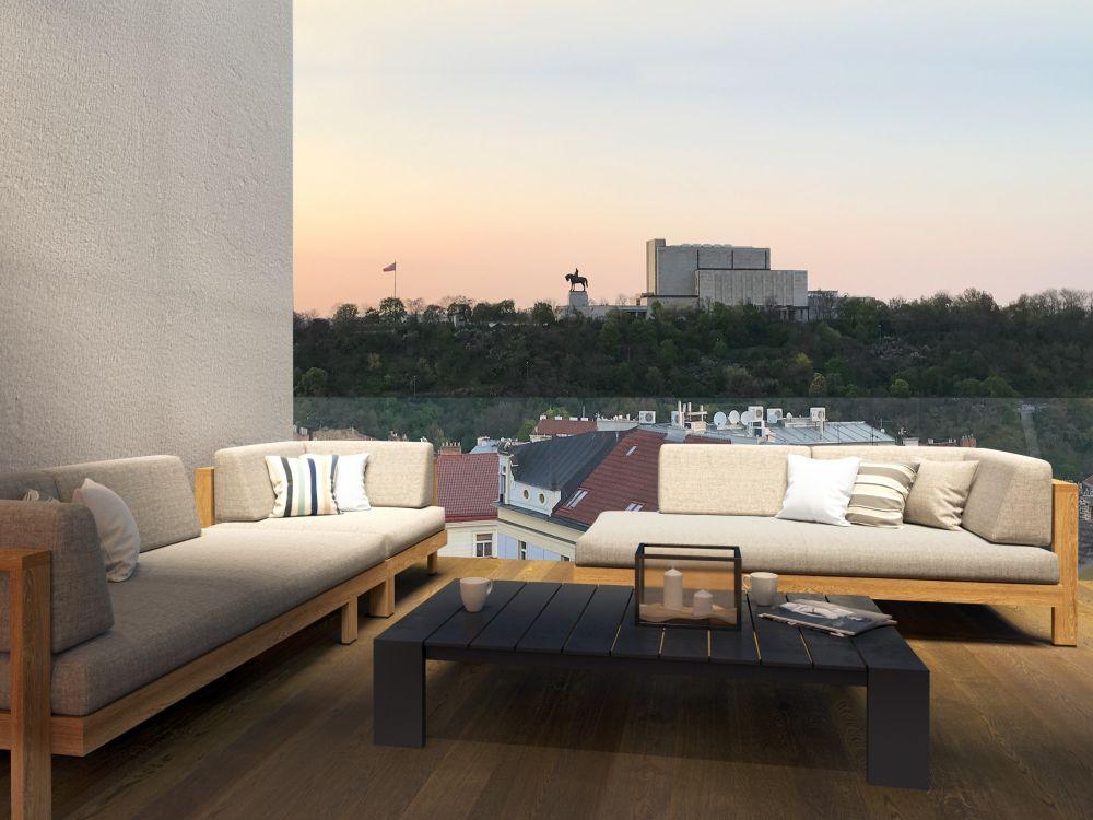 Výhled z terasy -
