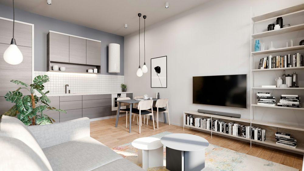 Půdní byt 2+kk, plocha 63 m², ulice Bořivojova, Praha 3 - Žižkov | 1