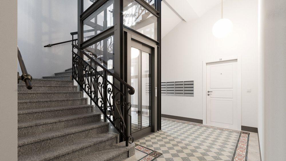 Půdní byt 2+kk, plocha 63 m², ulice Bořivojova, Praha 3 - Žižkov | 4