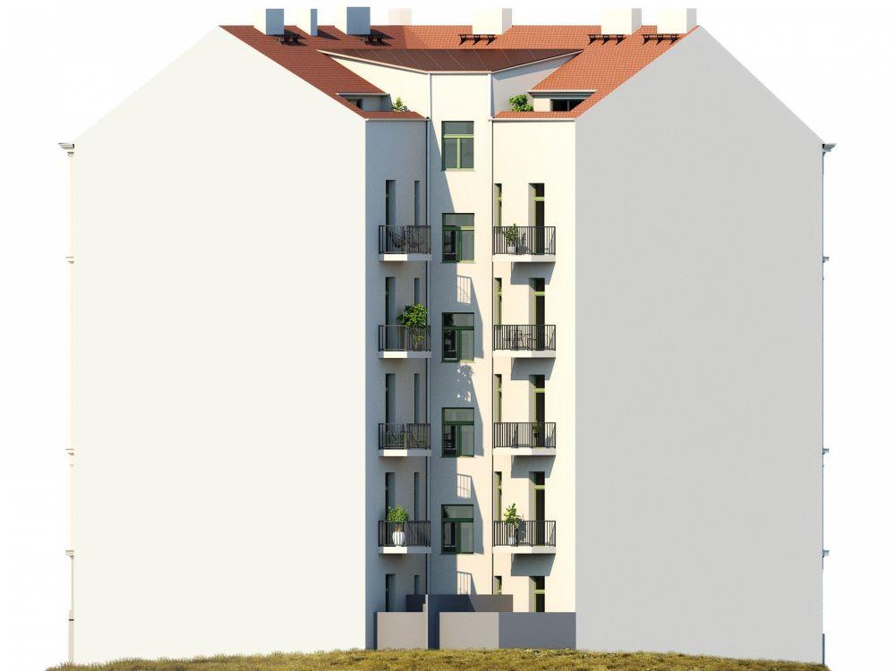 Půdní byt 2+kk, plocha 63 m², ulice Bořivojova, Praha 3 - Žižkov | 6