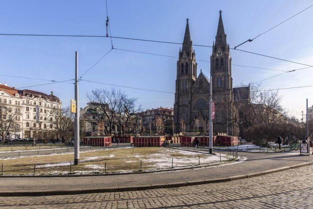 Nedaleké Náměstí Míru - developerský projekt Maison Lofts, ulice Tyršova, Praha 2 - Nové Město | 8