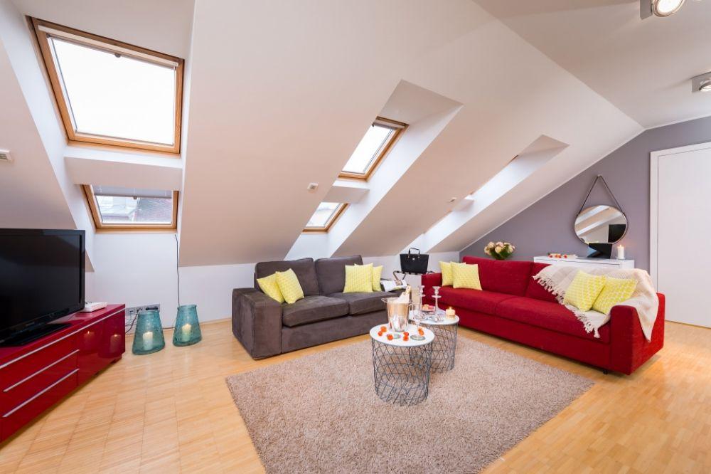 Půdní byt 3+kk, plocha 112 m², ulice Mikulandská, Praha 1 - Nové Město | 1