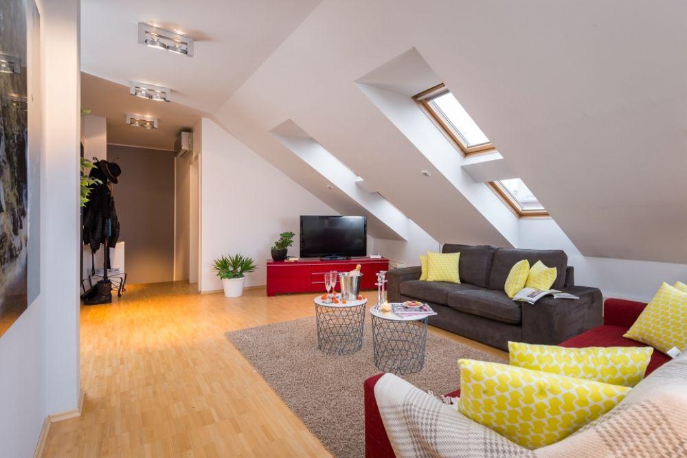 Půdní byt 3+kk, plocha 112 m², ulice Mikulandská, Praha 1 - Nové Město | 2