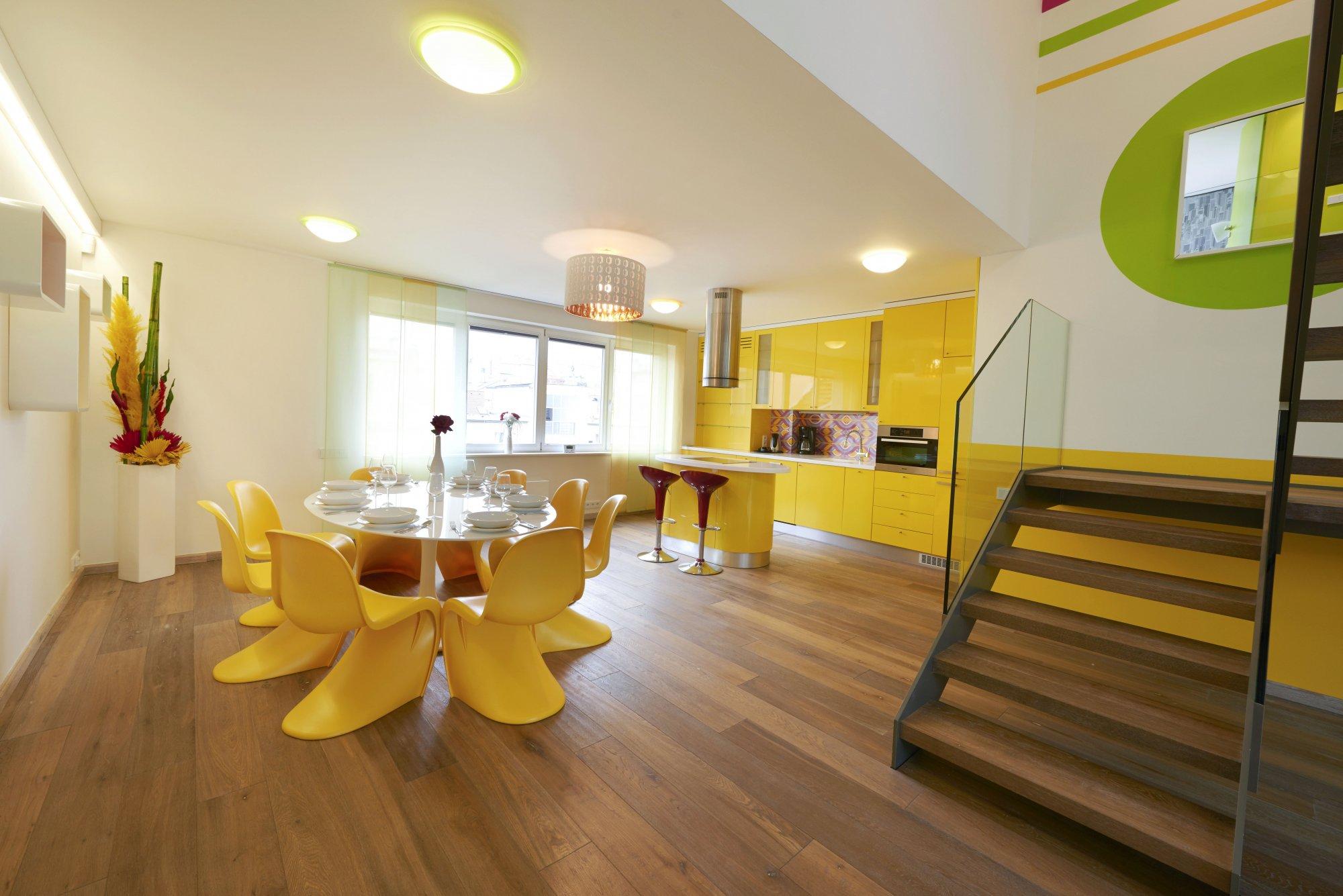 Půdní byt 3+kk, plocha 178 m², ulice Navrátilova, Praha 1 - Nové Město | 2