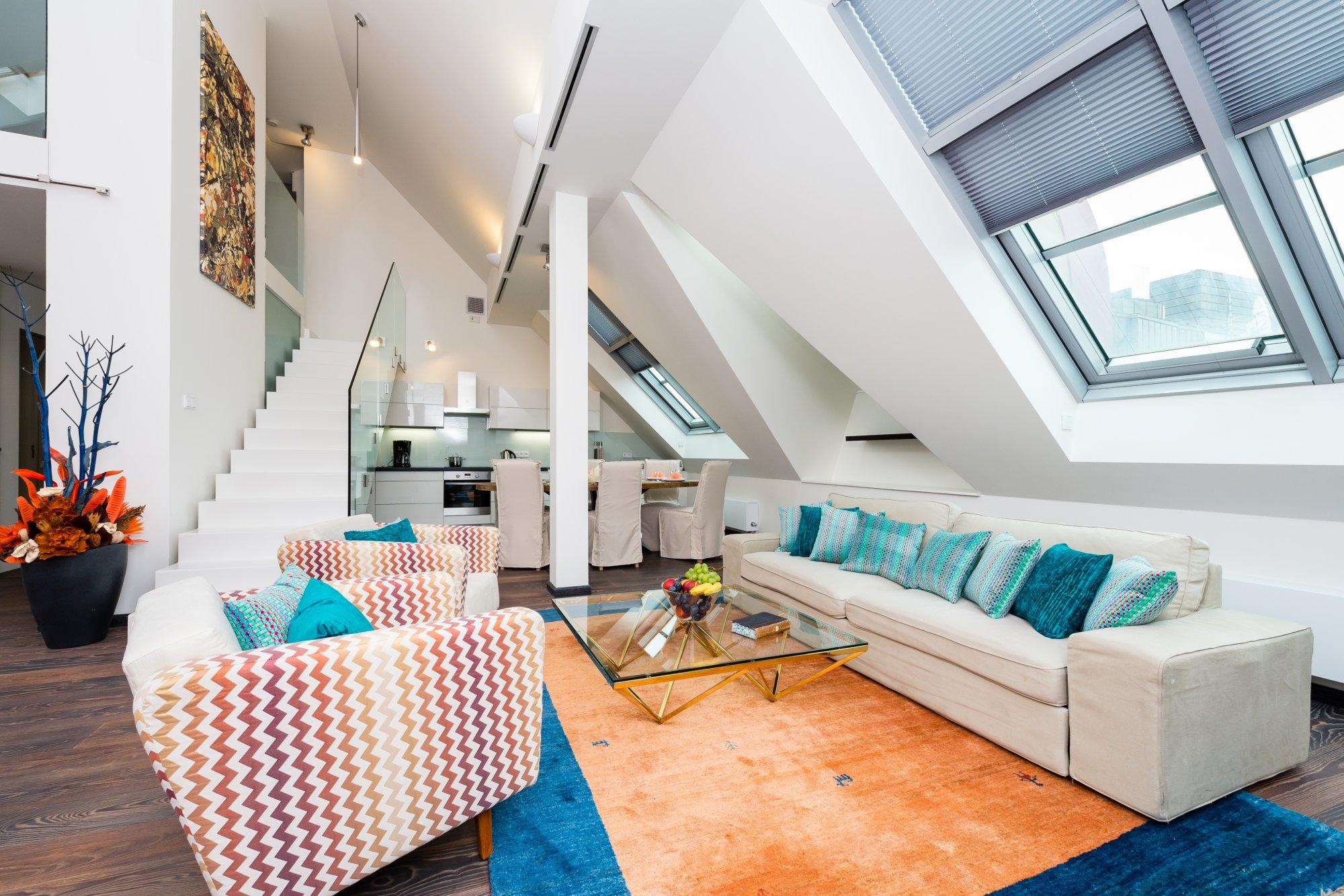 Půdní byt 4+kk, plocha 209 m², ulice Navrátilova, Praha 1 - Nové Město | 2