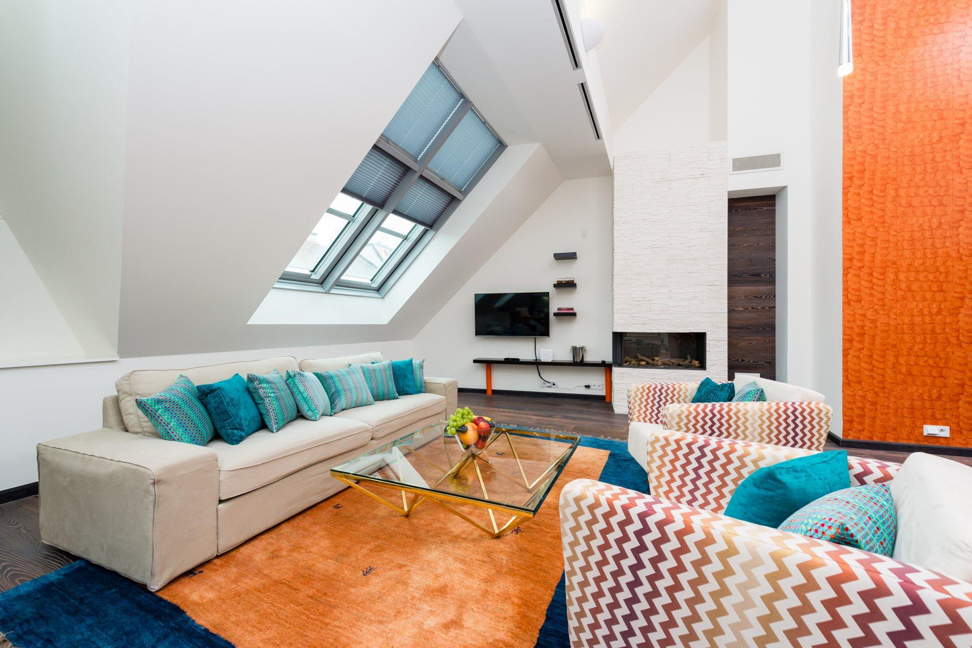 Půdní byt 4+kk, plocha 209 m², ulice Navrátilova, Praha 1 - Nové Město | 3