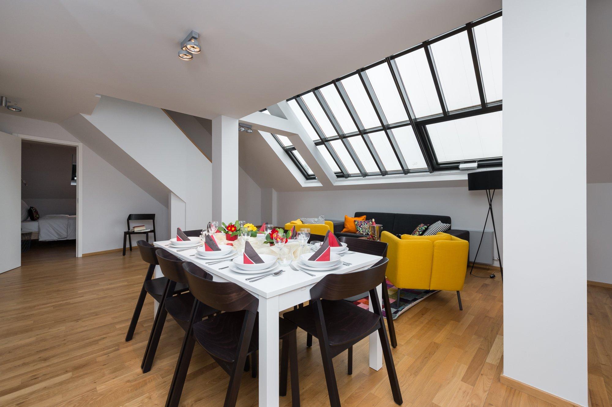Půdní byt 4+kk, plocha 143 m², ulice Růžová, Praha 1 - Nové Město | 3