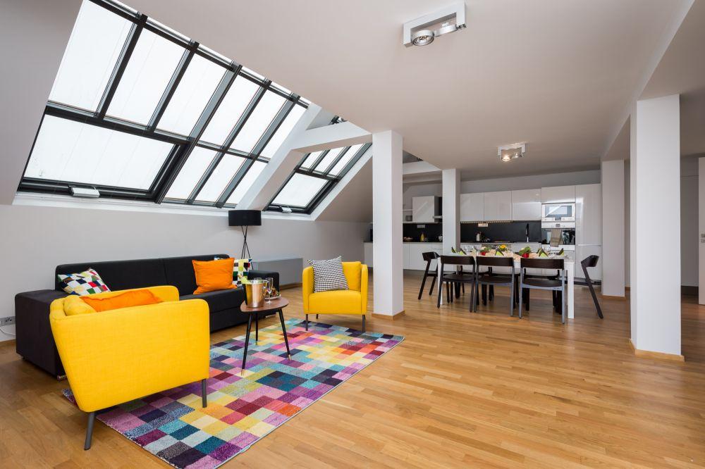 Půdní byt 4+kk, plocha 195 m², ulice Růžová, Praha 1 - Nové Město | 2