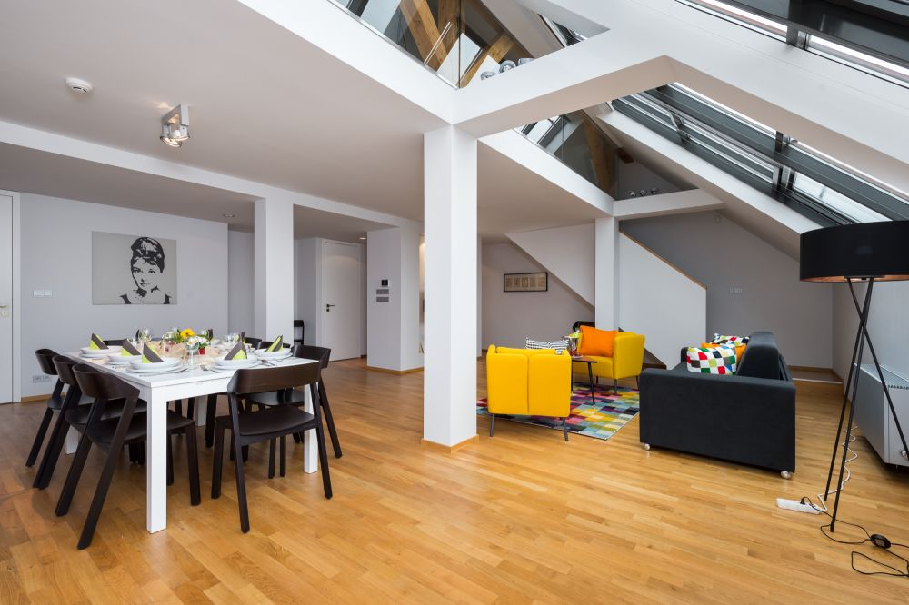 Půdní byt 4+kk, plocha 195 m², ulice Růžová, Praha 1 - Nové Město | 3