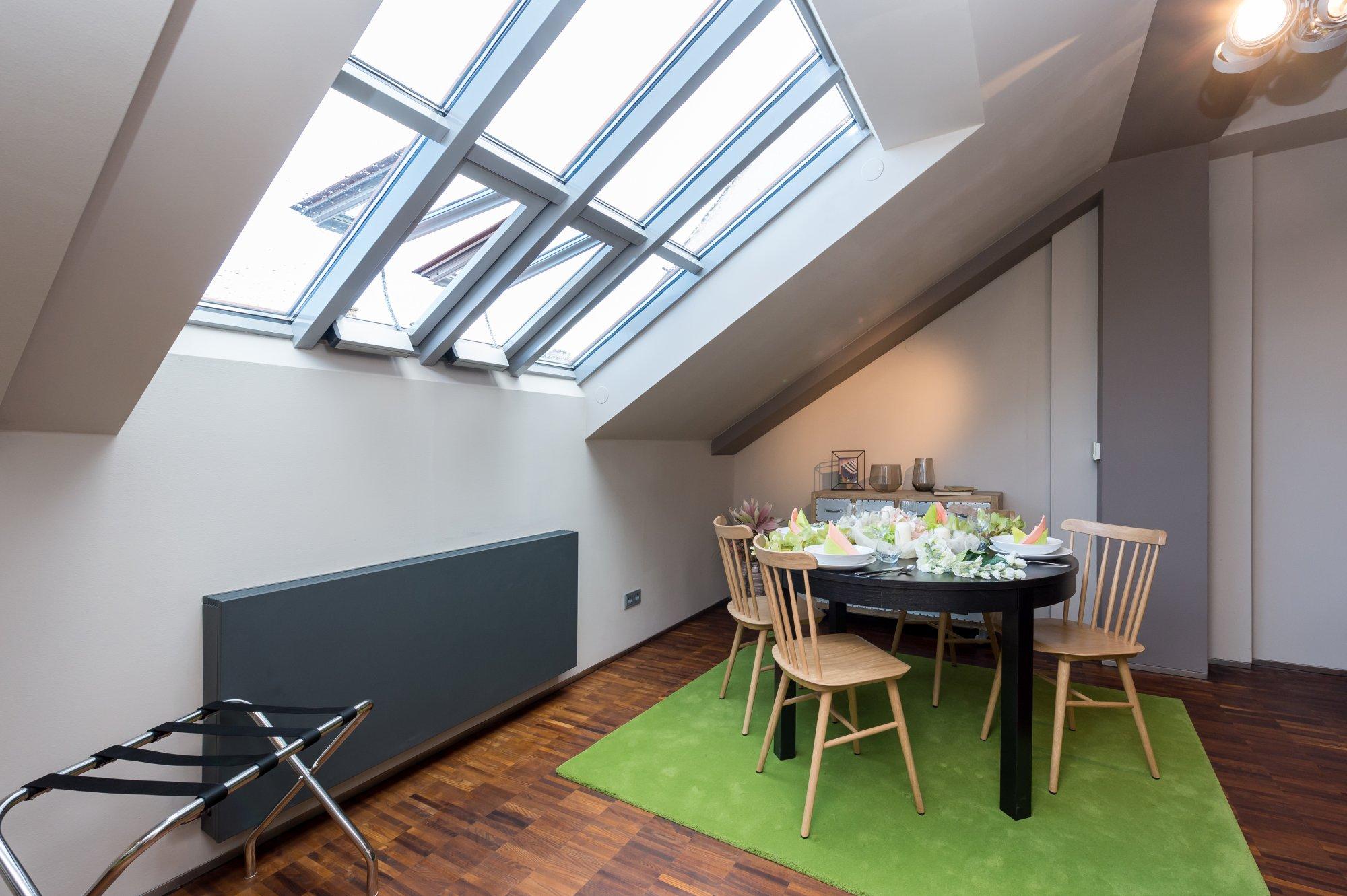 Půdní byt 2+kk, plocha 113 m², ulice Soukenická, Praha 1 - Nové Město | 2