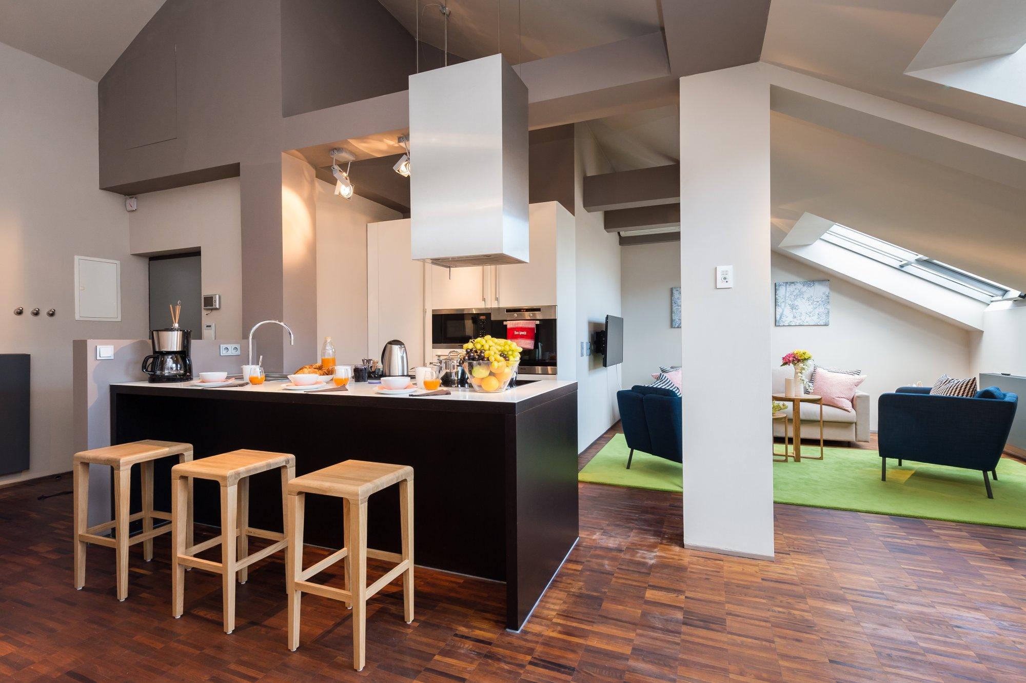 Půdní byt 2+kk, plocha 113 m², ulice Soukenická, Praha 1 - Nové Město | 3