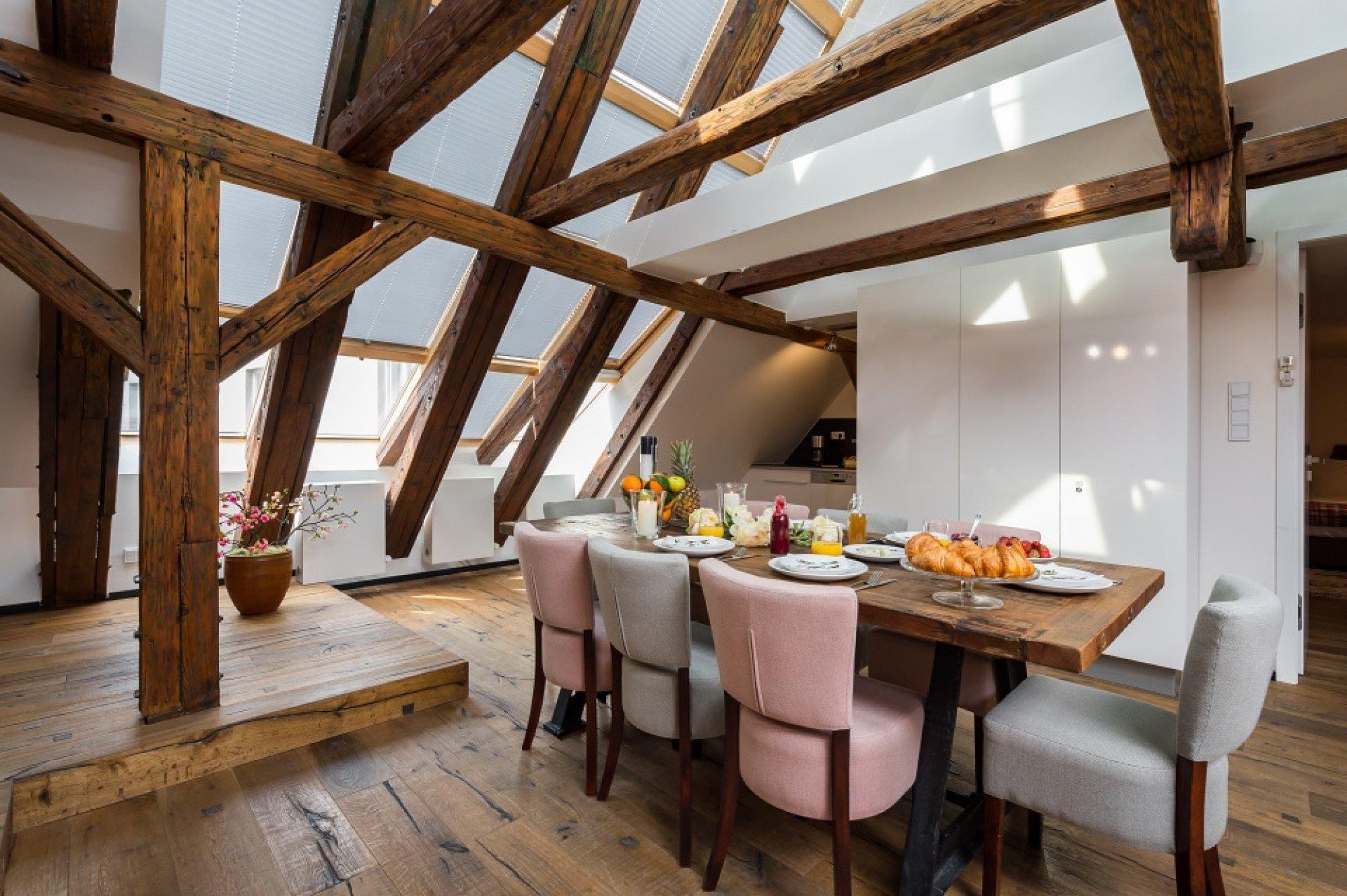 Půdní byt 4+kk, plocha 194 m², ulice Tržiště, Praha 1 - Malá Strana | 3