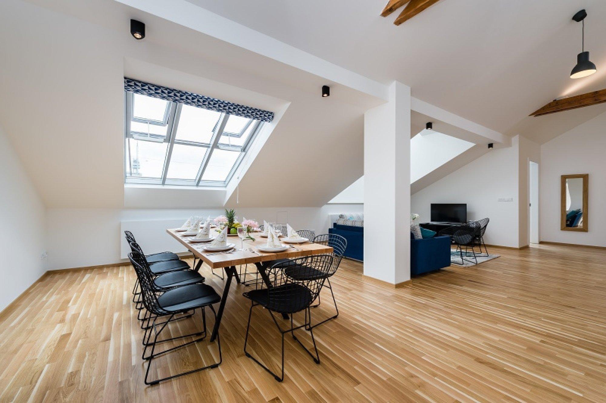 Půdní byt 6+kk, plocha 247 m², ulice U Bulhara, Praha 1 - Nové Město | 3
