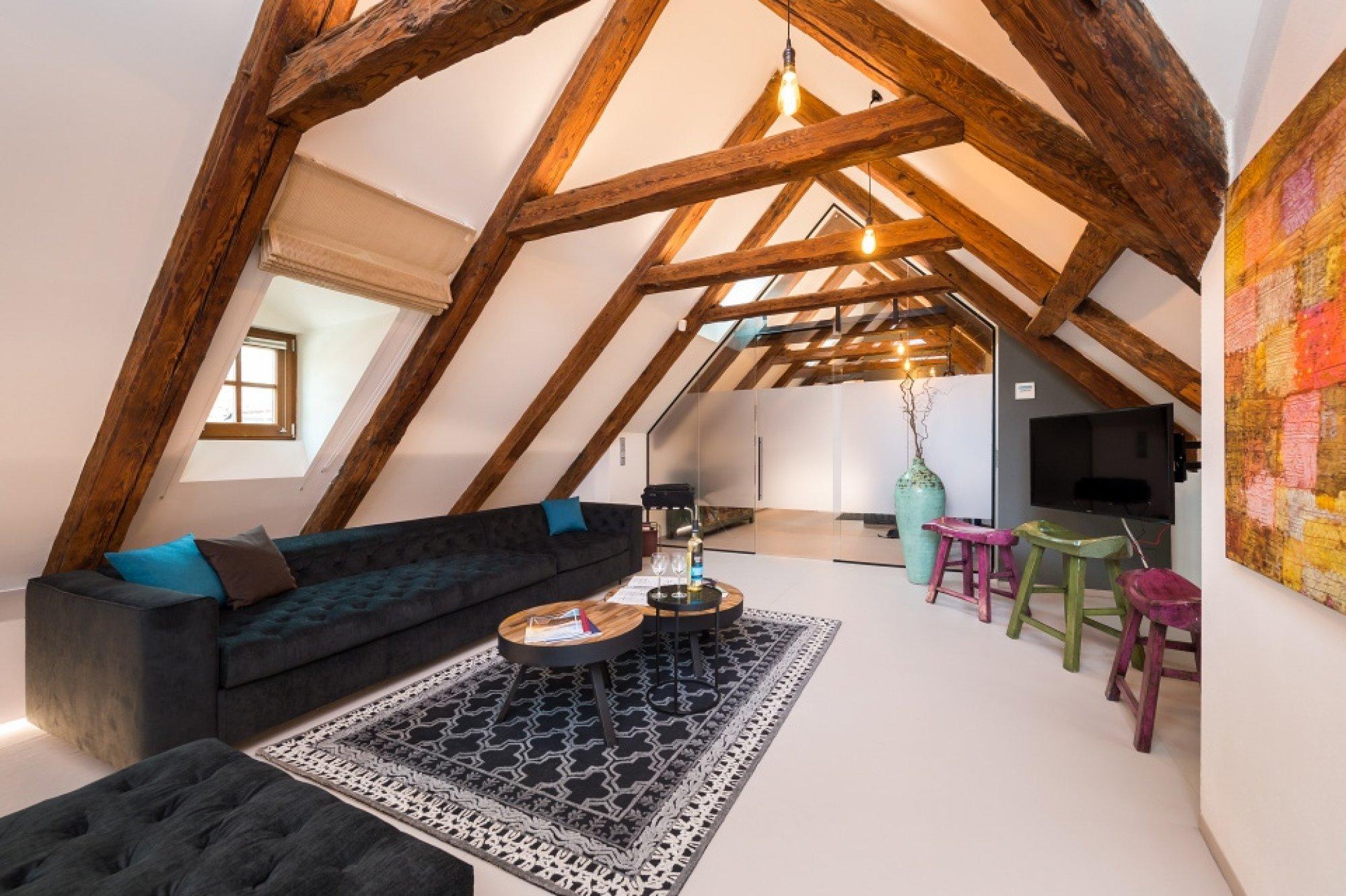 Půdní byt 4+kk, plocha 199 m², ulice V Jirchářích, Praha 1 - Nové Město | 1