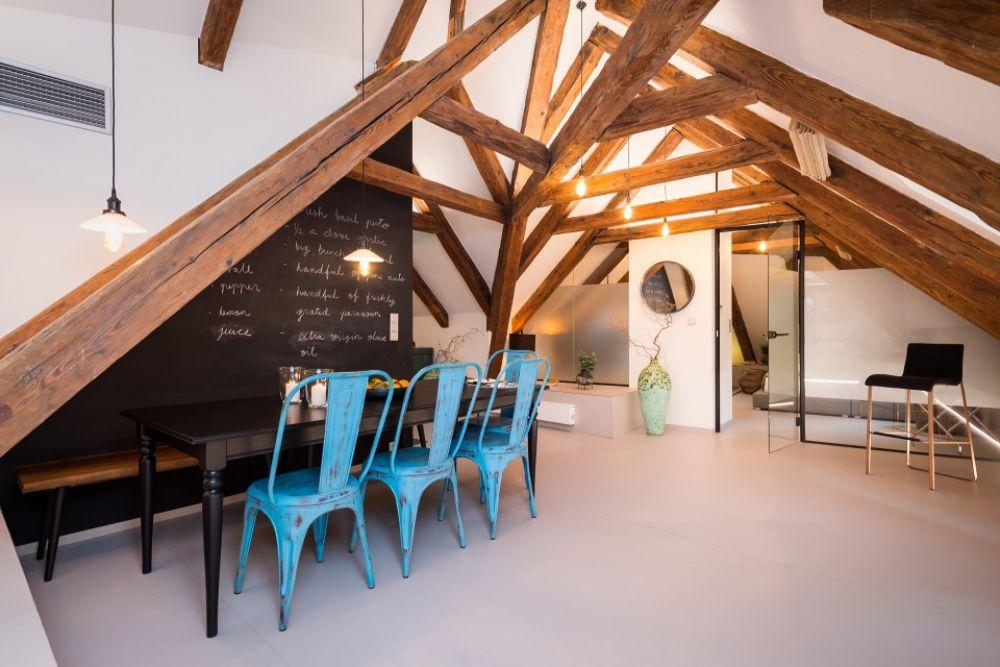 Půdní byt 4+kk, plocha 199 m², ulice V Jirchářích, Praha 1 - Nové Město | 7