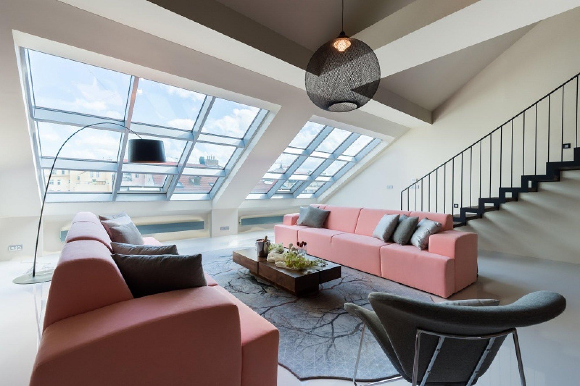 Půdní byt 5+kk, plocha 261 m², ulice Jindřišská, Praha 1 - Nové Město | 1