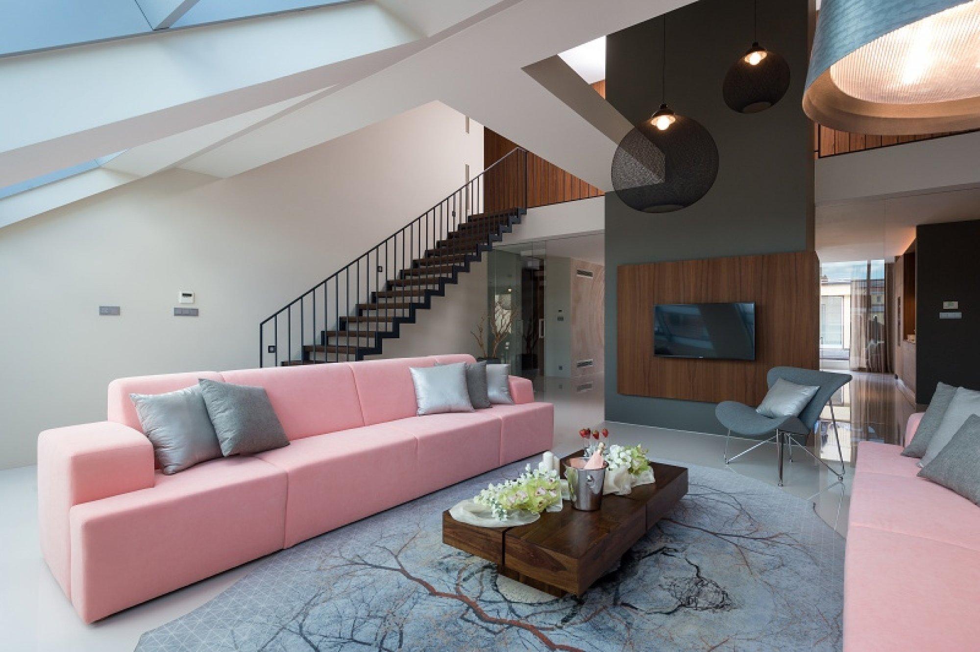 Půdní byt 5+kk, plocha 261 m², ulice Jindřišská, Praha 1 - Nové Město | 3