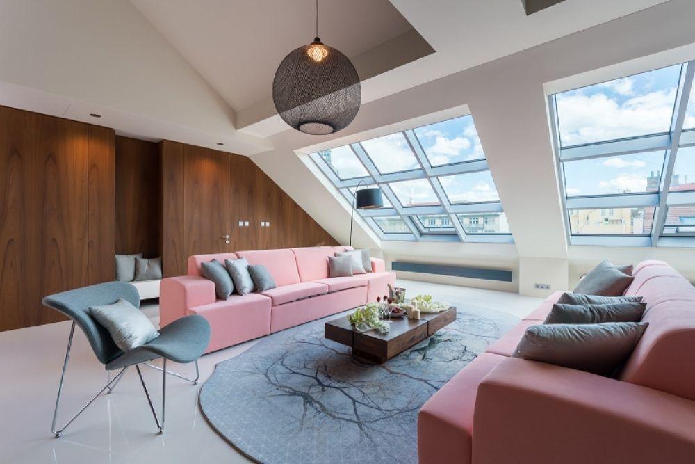 Půdní byt 6+kk, plocha 291 m², ulice Jindřišská, Praha 1 - Nové Město | 2