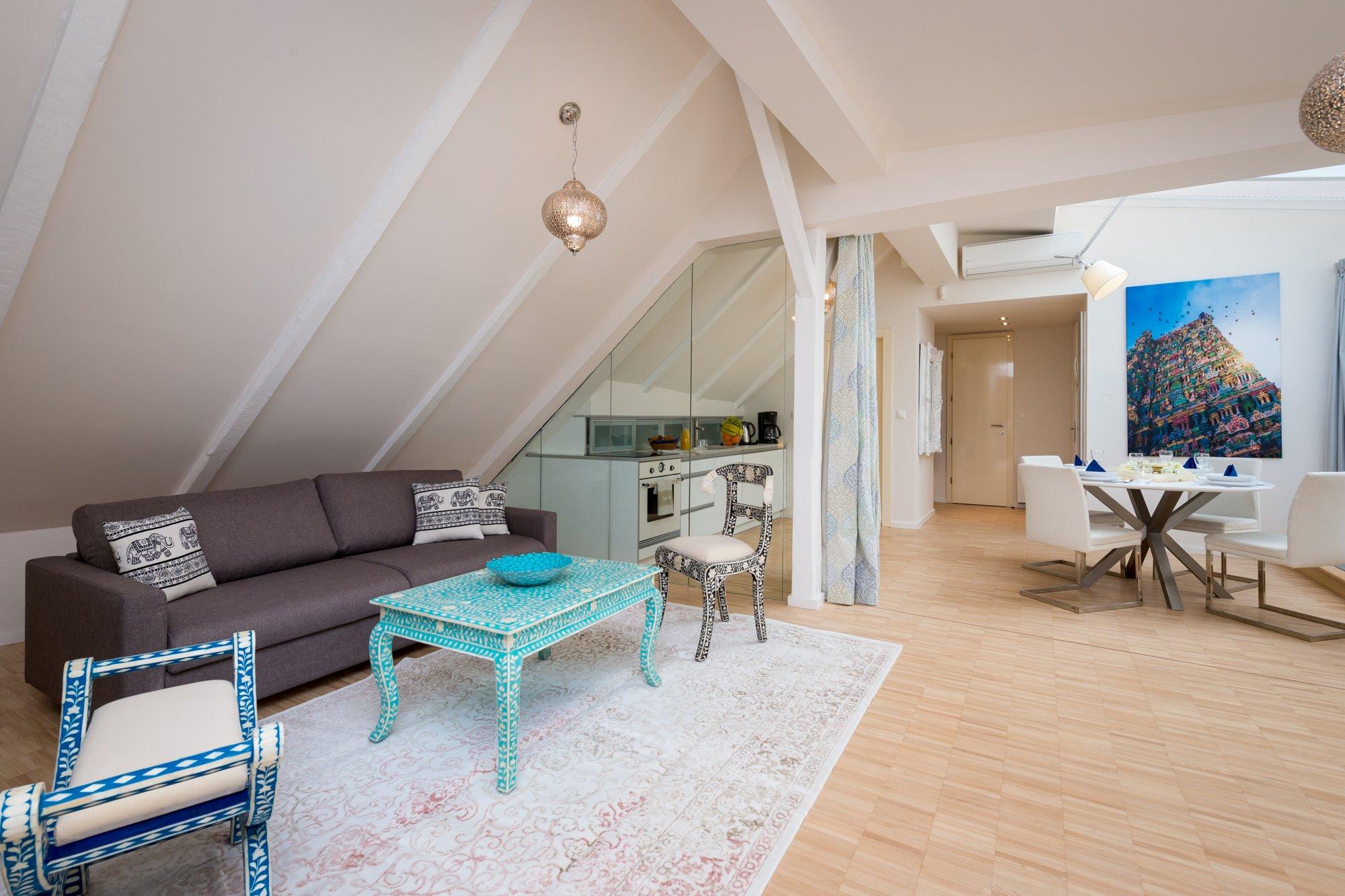 Půdní byt 2+kk, plocha 108 m², ulice Jilská, Praha 1 - Staré Město | 1