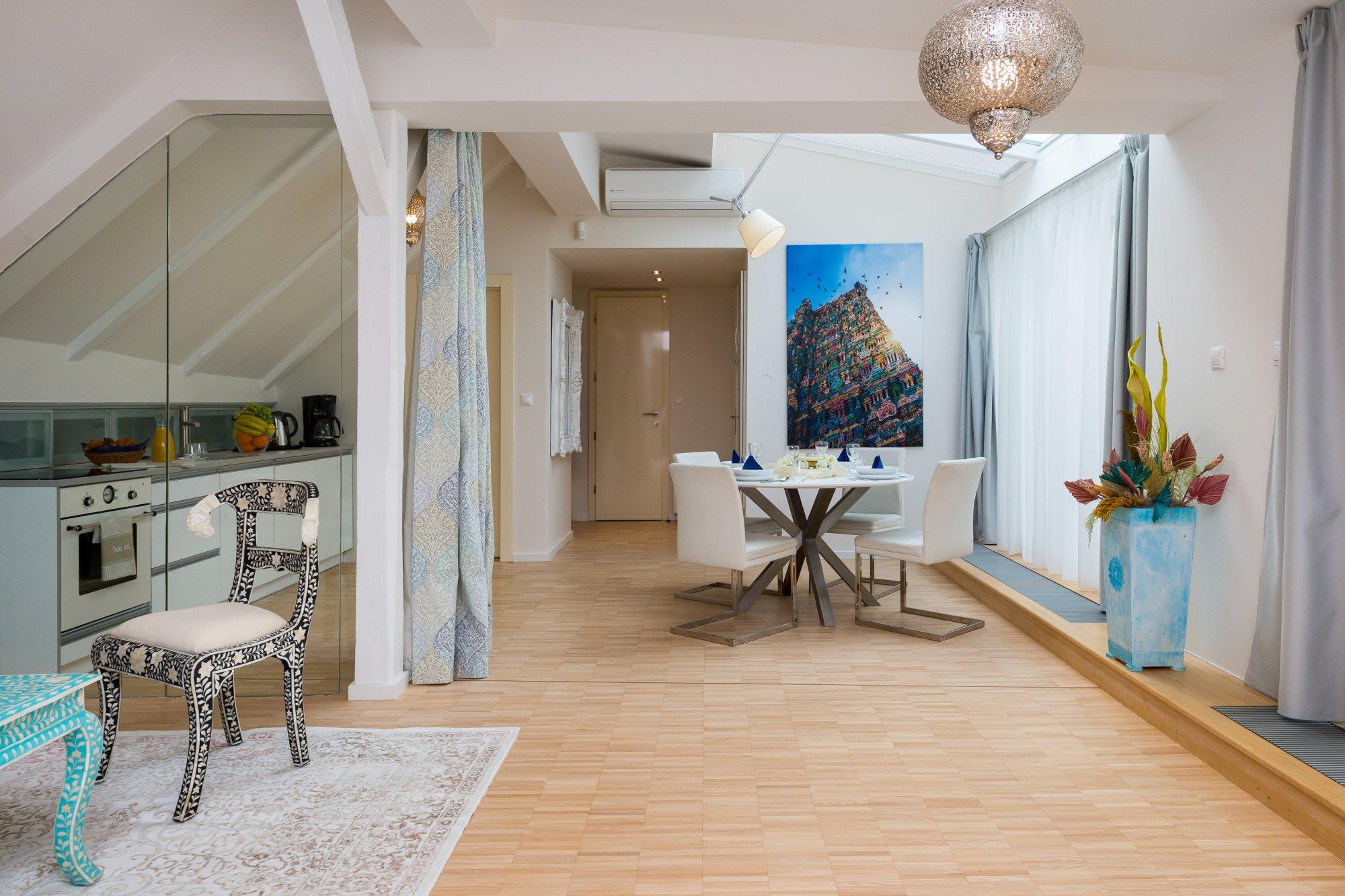 Půdní byt 2+kk, plocha 108 m², ulice Jilská, Praha 1 - Staré Město | 2