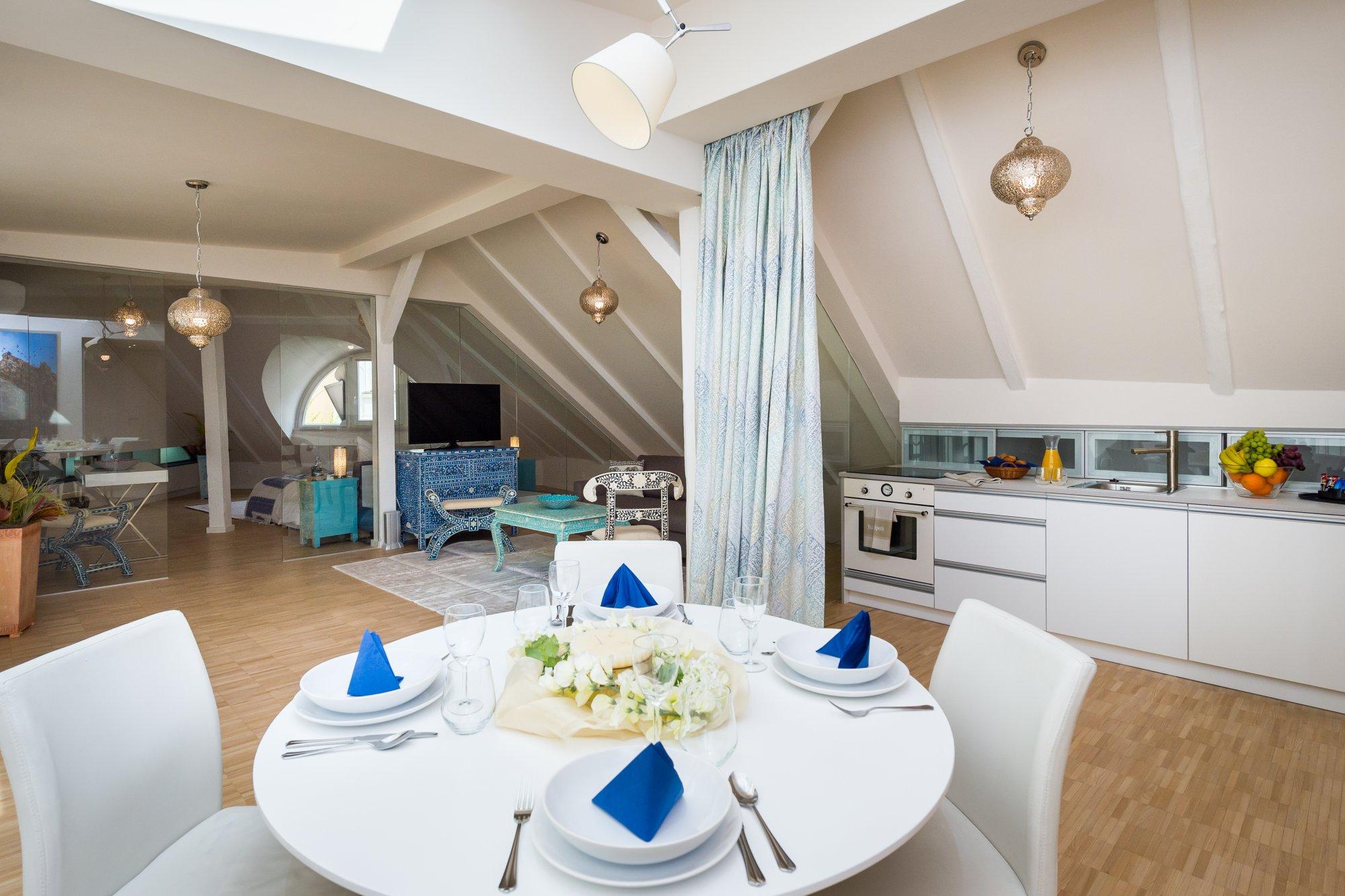 Půdní byt 2+kk, plocha 108 m², ulice Jilská, Praha 1 - Staré Město | 3