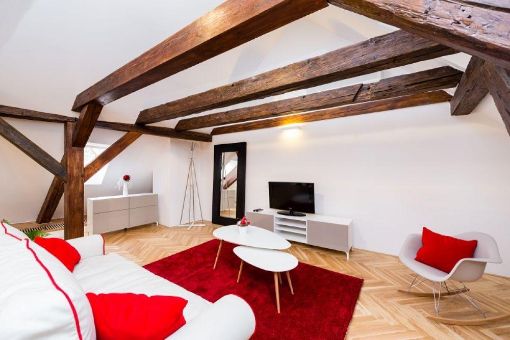 Půdní byt 2+kk, plocha 127 m², ulice Thunovská, Praha 1 - Malá Strana | 3