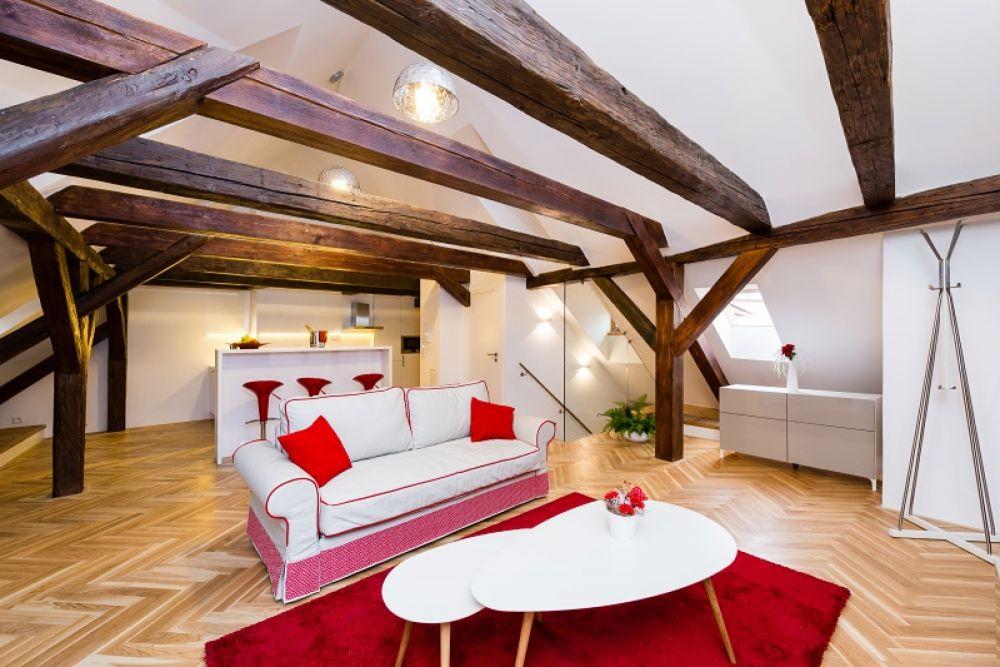 Půdní byt 2+kk, plocha 127 m², ulice Thunovská, Praha 1 - Malá Strana | 4
