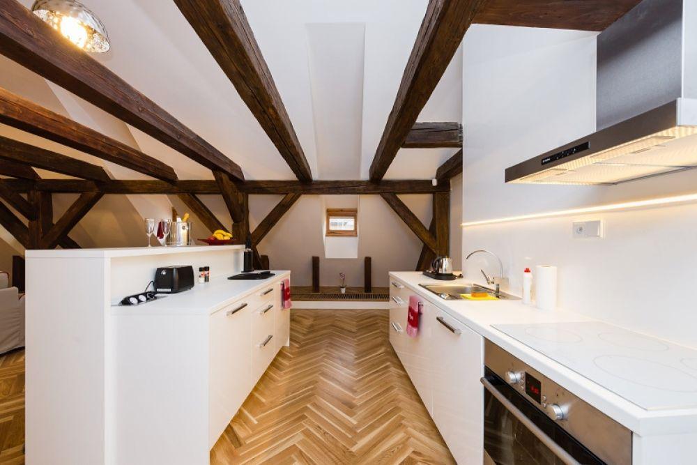 Půdní byt 2+kk, plocha 127 m², ulice Thunovská, Praha 1 - Malá Strana | 5