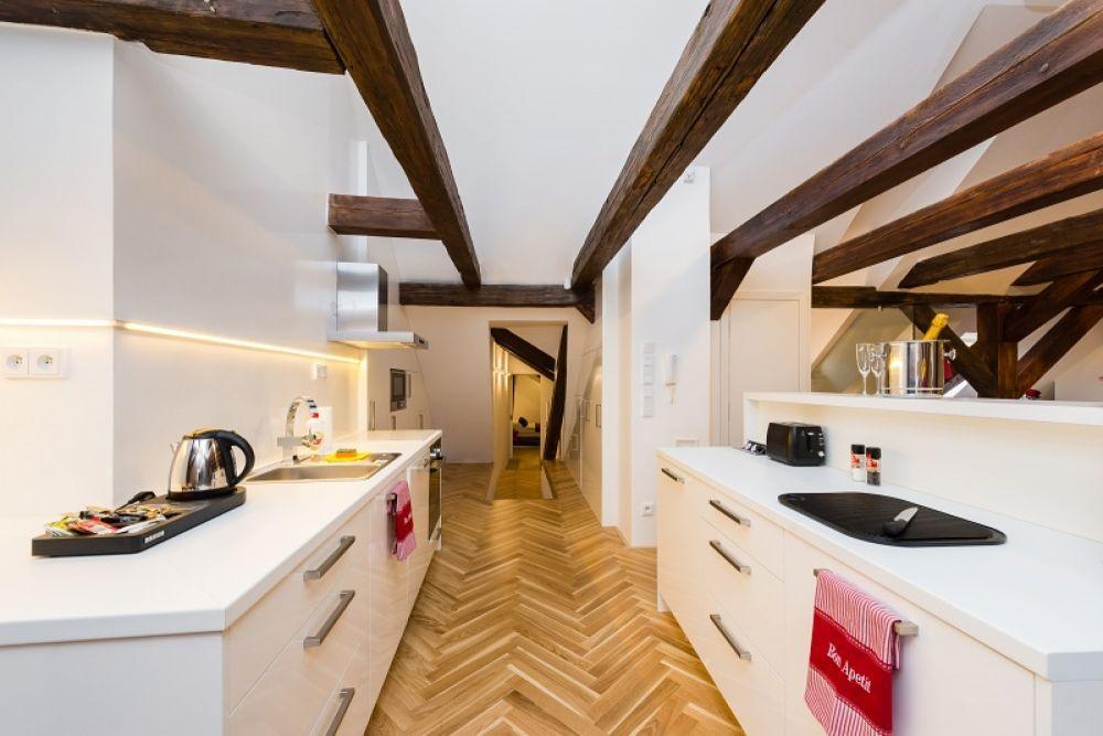 Půdní byt 2+kk, plocha 127 m², ulice Thunovská, Praha 1 - Malá Strana | 6