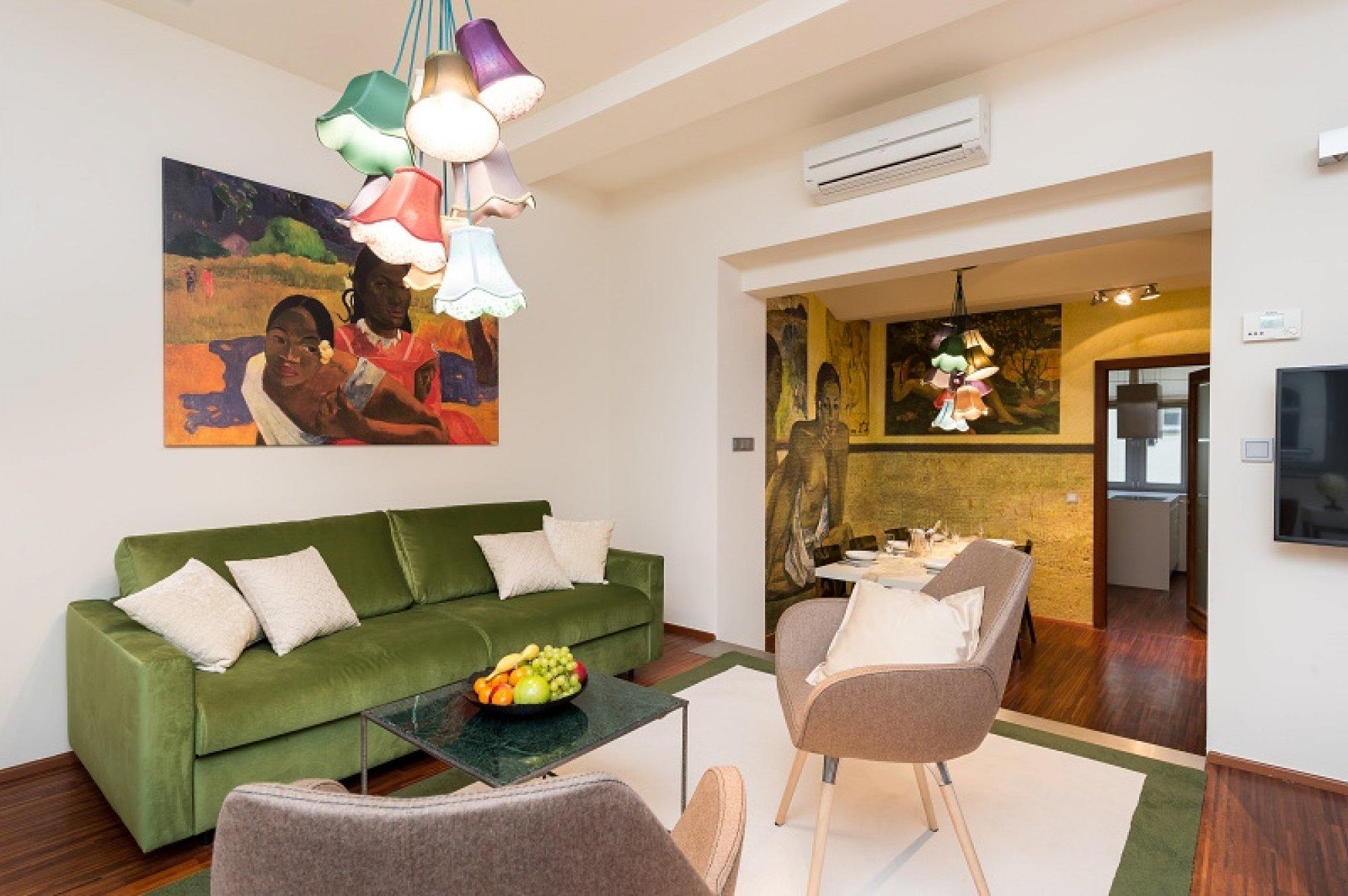 Půdní byt 3+1, plocha 122 m², ulice Vojtěšská, Praha 1 - Nové Město | 3