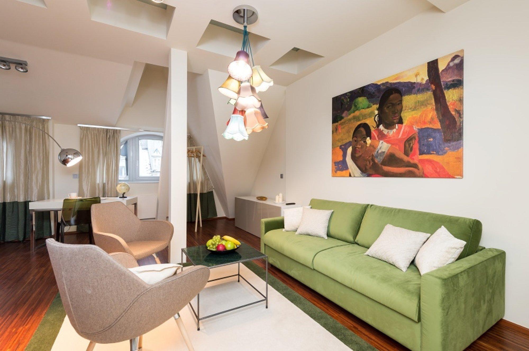 Půdní byt 3+1, plocha 122 m², ulice Vojtěšská, Praha 1 - Nové Město | 2