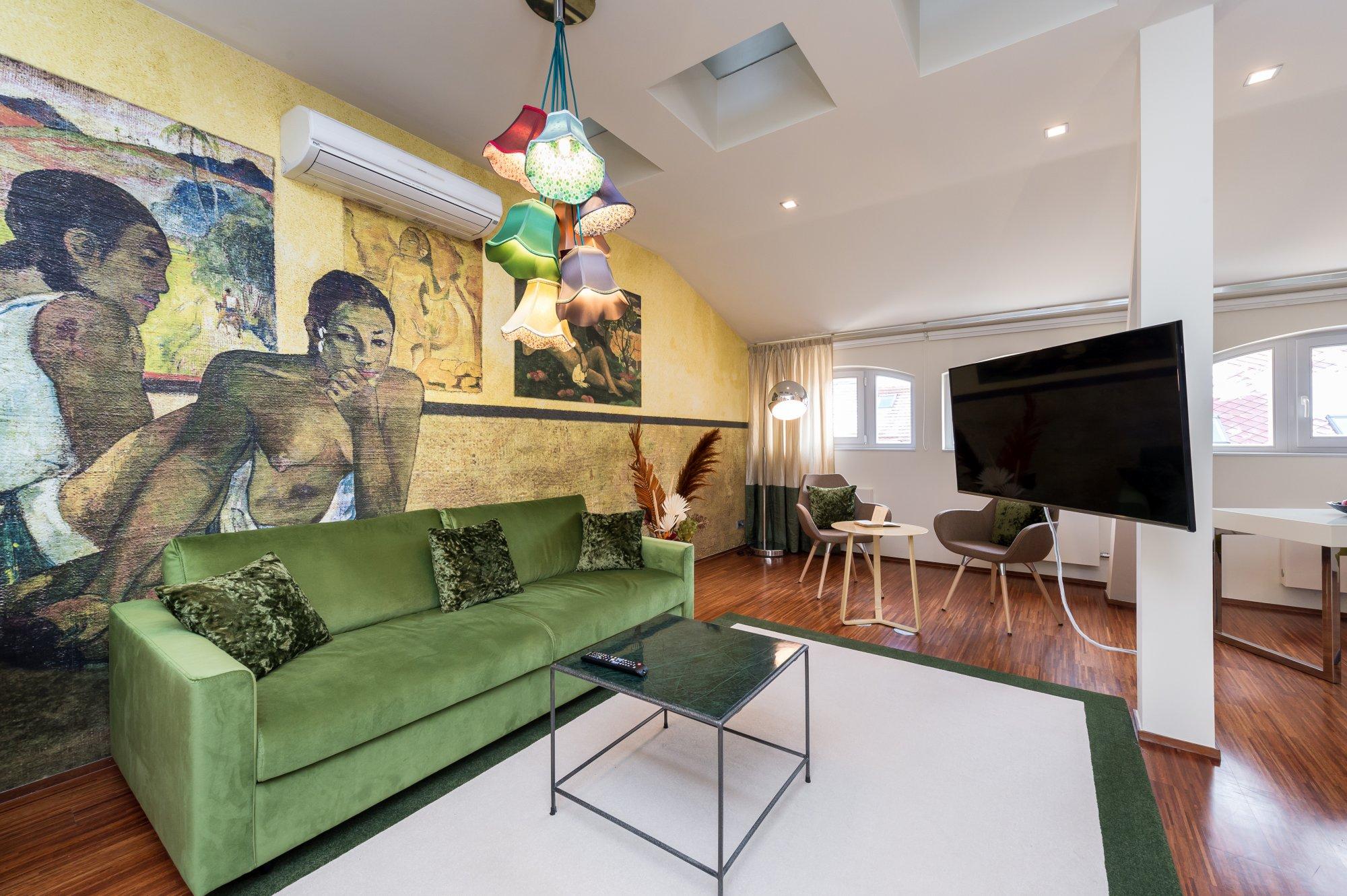 Půdní byt 4+kk, plocha 156 m², ulice Vojtěšská, Praha 1 - Nové Město | 3