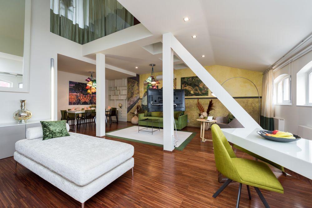 Půdní byt 4+kk, plocha 156 m², ulice Vojtěšská, Praha 1 - Nové Město | 2