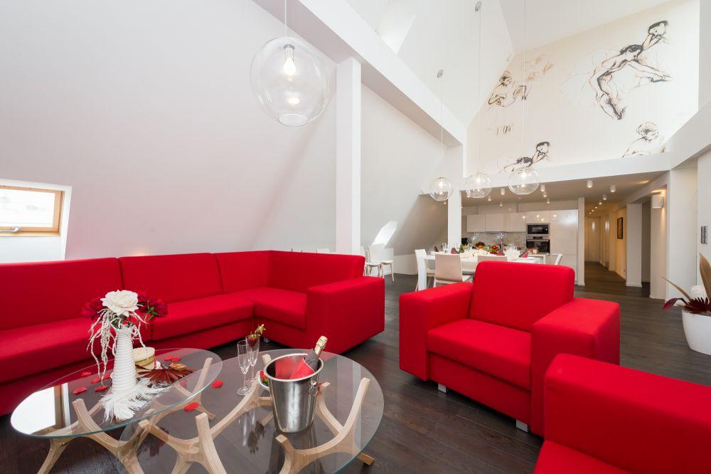 Půdní byt 5+kk, plocha 198 m², ulice Vodičkova, Praha 1 - Nové Město | 3