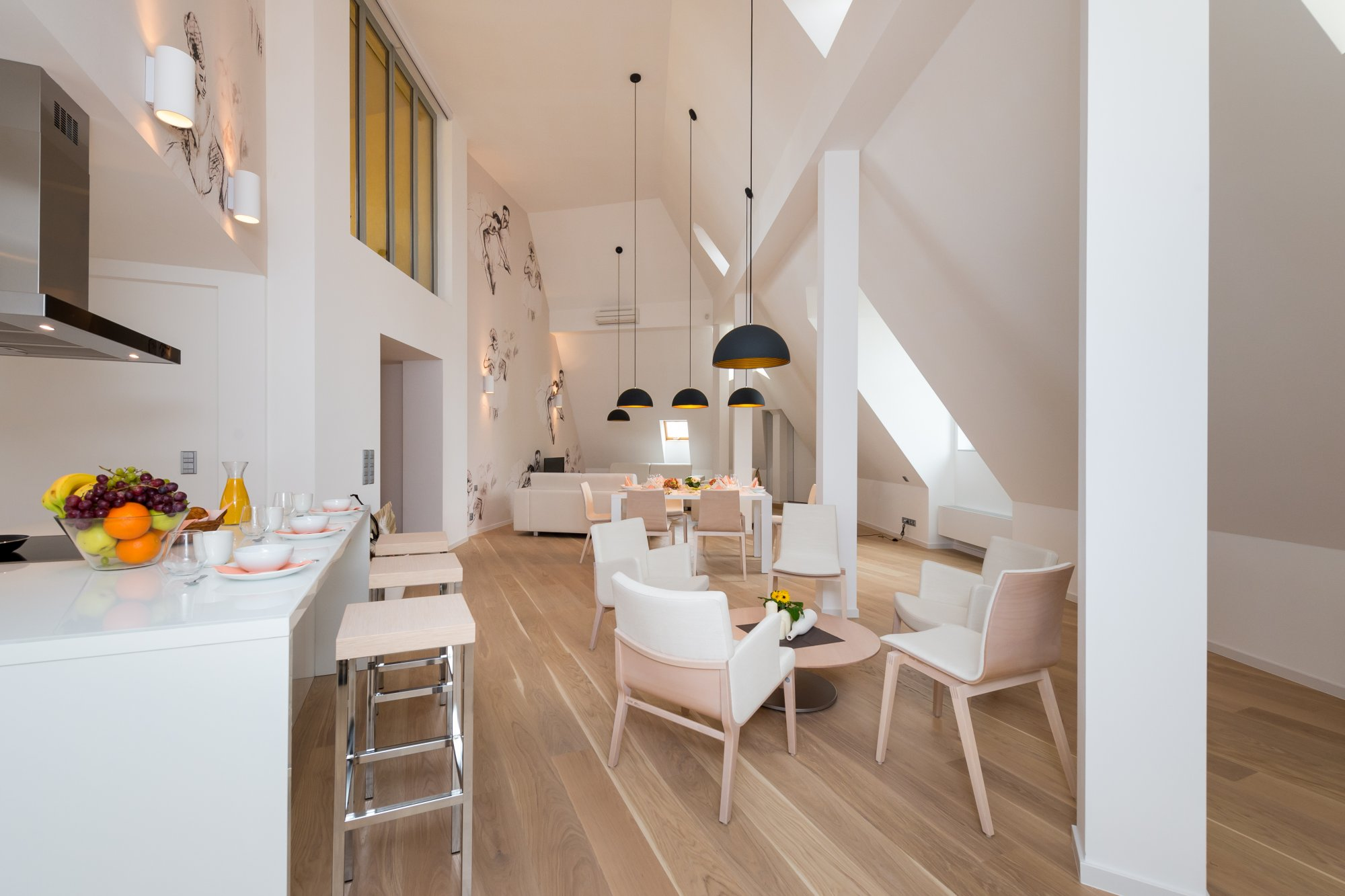 Půdní byt 5+kk, plocha 208 m², ulice Vodičkova, Praha 1 - Nové Město | 2