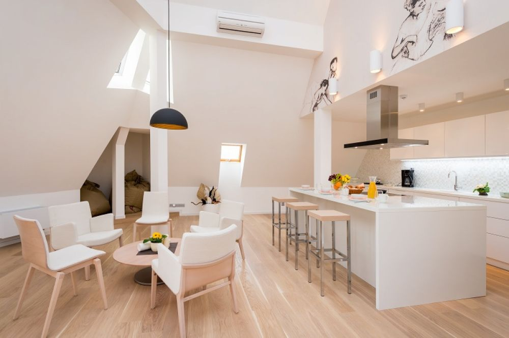 Půdní byt 5+kk, plocha 208 m², ulice Vodičkova, Praha 1 - Nové Město | 8