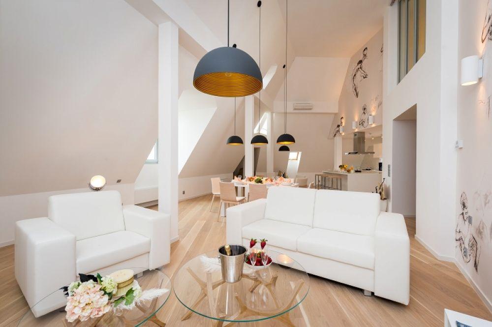 Půdní byt 5+kk, plocha 208 m², ulice Vodičkova, Praha 1 - Nové Město | 10