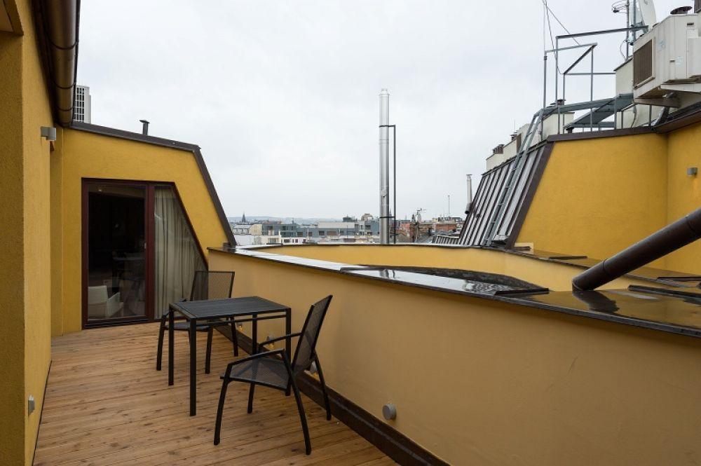 Půdní byt 5+kk, plocha 208 m², ulice Vodičkova, Praha 1 - Nové Město | 23